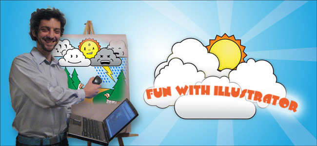 Fun With Illustrator: Make a Happy Little Cloud